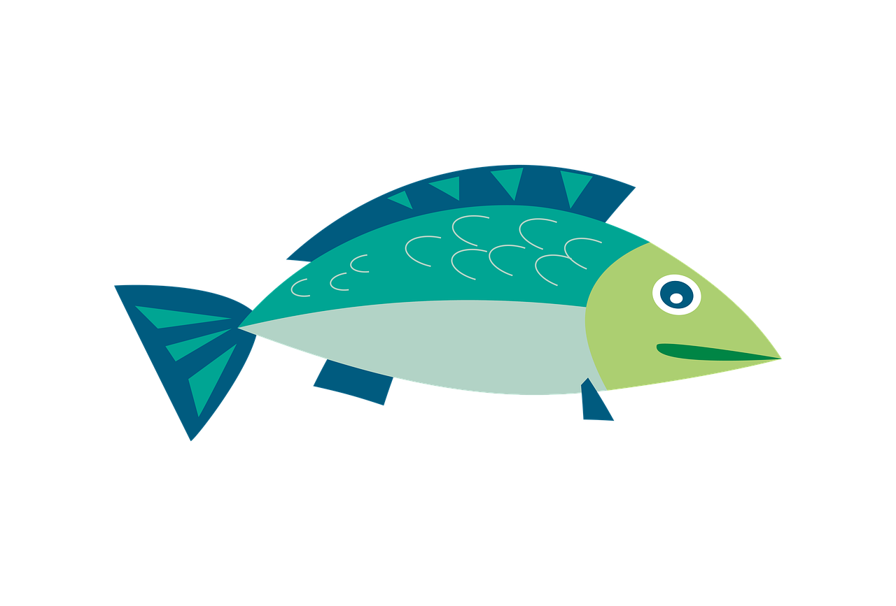 clipart, fish, sea